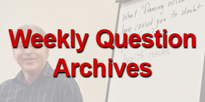Question of the Week Archives
