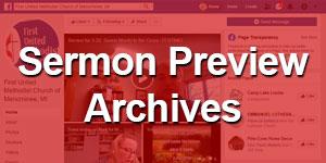Sermon Preview Archives
